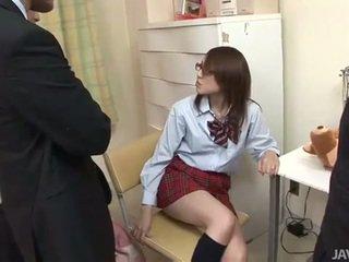 Japans tiener rino mizusawa geil klap rammen