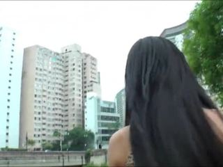 Superb 人妖 孩儿 bruna butterfly solo