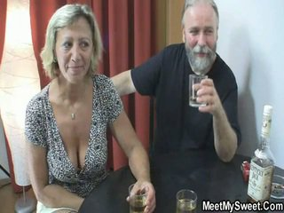 see old man old and young mature milf granny grandpa fun