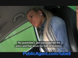 Publicagent caliente rubia adolescente follando en mi coche