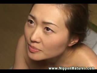 This mature asian wants to be filled up with hard dick