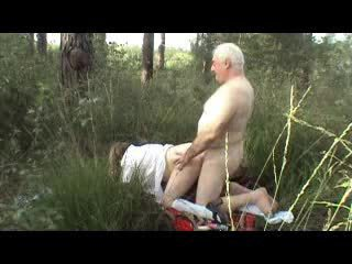 fucking, doggy style, outdoor, old farts