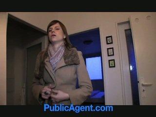 Публичен agent fucks бременни marketa