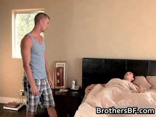 Brothers Hawt Boyfriend Acquires Dick Sucked