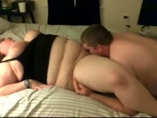 bbw couple making home movies
