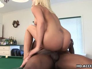 Sexy stacy thorn inter-racial nearby difícil horn a foder