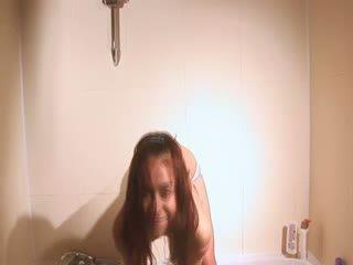 Natasha czech jerking off in Bath room