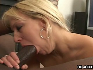 Great Chocolate Thing Mixed Race Involving Hot Blonde Sex!