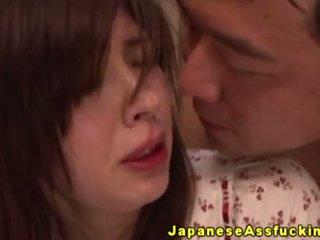 Nhật bản mẹ tôi đã muốn fuck hậu môn cưỡi trên tinh ranh