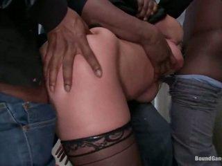 Katja kassin has band geneukt door zwart guys