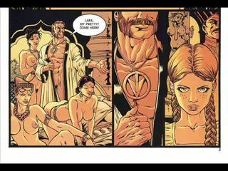 Σκληρό πορνό σεξ κομικ και fantasy δέσιμο κομικ