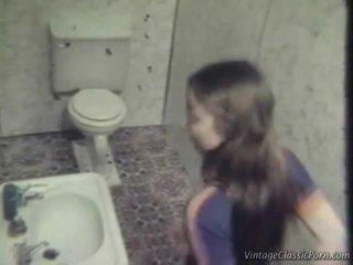 Fucking Onto The Washroom Floor
