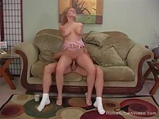 blondes, big boobs, creampie