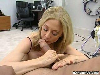 Sensuous momma nina hartley sits onto jos heated muff pie onto a sausage kaip a dissolute kaubojė