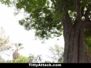 bigtits, outdoors, big tits