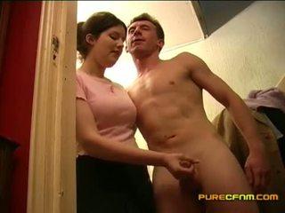 voyeur, lampeggiante, masturbazione