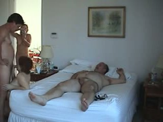 any group sex clip, swingers video, real matures