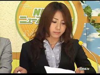 Japonská newsreaders ayumu sena a fuuka minase squirting l