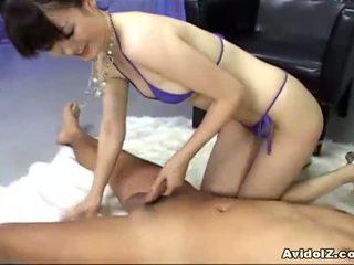 Ai himeno loves kontol menggoda dan kelompok masturbation