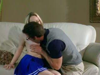 Sexy naughty schoolgirl