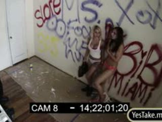 Aidra Fox And Bianca Rough Sex On Tape