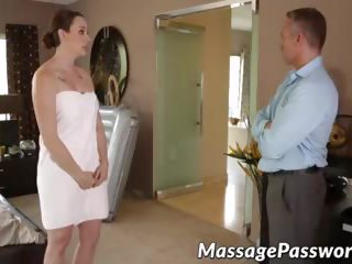 Horny Chanel Preston Makes Massage of Marcus Londons.