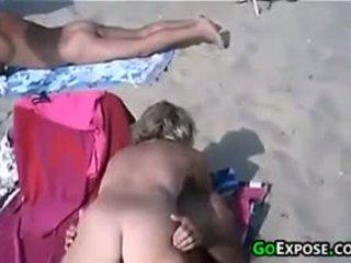praia, público, ao ar livre, amador