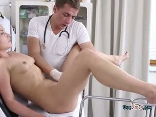 Mental Patient Niki Sweet Plays With Dirty Doctor