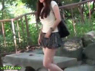 japonés, ver público fresco, comprobar al aire libre gran