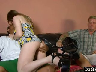 hq brunette, doggystyle, hot blowjob all