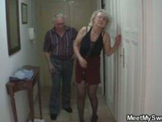 おばあちゃん, 欧州の, 古い+ヤング, 3p