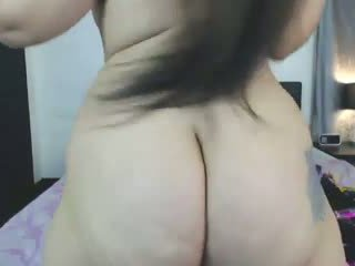 Big ass on cam