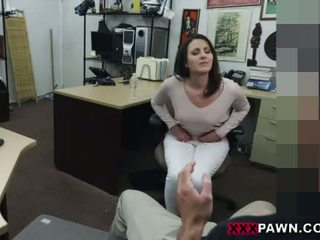 Customers wifey banged in the backroom