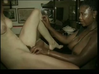 South African Interracial Swinger Party Threesome