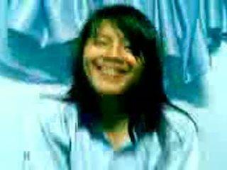 Malay School Teen In Uniform Stripping Nshowing Of