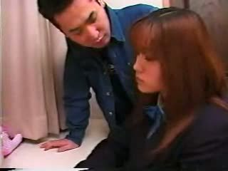 Japanese Schoogirl: Old & Young Porn Video 08