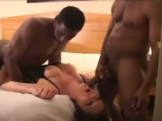 cuckold, interracial, creampie, hardcore
