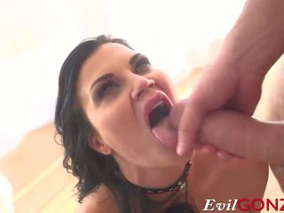 Jasmine Jae gets Monster Cock Straight up Her Asshole