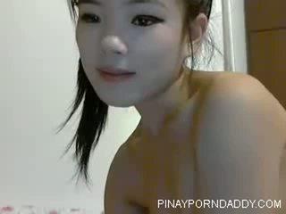 Dễ thương trung quốc thiếu niên trên webcam - pinayporndaddy