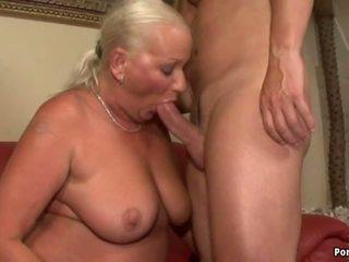 おばあちゃん, 成熟する, アナル, hdポルノ