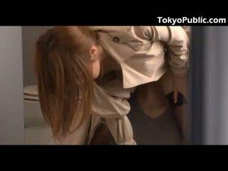 Hot Japanese Fucks Guys In The Public Restroom