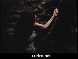Gammal skola retro porr film från den 80s