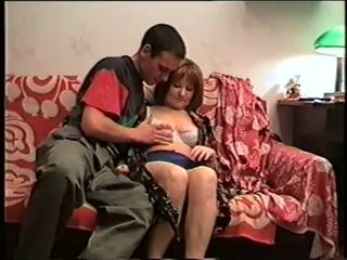 Angela Darling and young boy