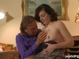 German Teen Casted by Old Teacher, Free Porn 28