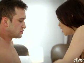 Brunette Pornstar Ava Dalush Has Small Tits