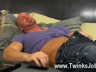 Hot gay sex He calls the scanty man over to