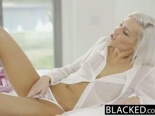 Blacked preppy блондинки приятелка kacey jordan cheats с bbc