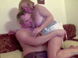 Hairy Mom get First Fuck in Front of Camera for Cash...