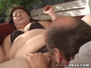 Bbw oma gets sie fett muschi stuffed, porno 00