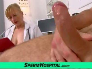 A Boy Receives Hj from Dirty MILF Gabina, Porn 5a